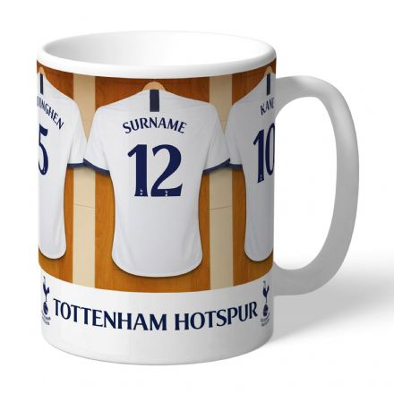 Personalised Tottenham Hotspur FC Dressing Room Mug